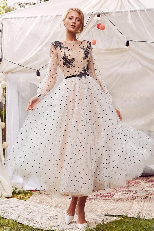 Выпускное платье миди Shaya в Dress Parad