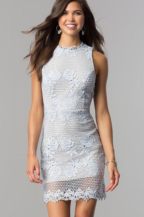 Нежное гипюровое платье