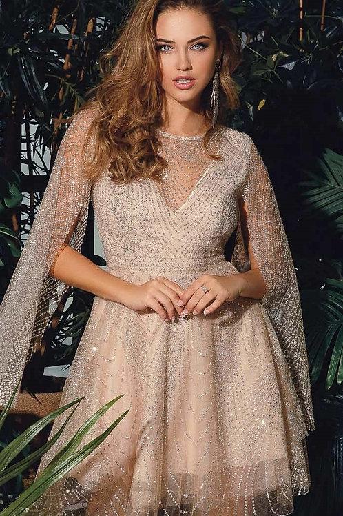 Блестящее платье на выпускной
