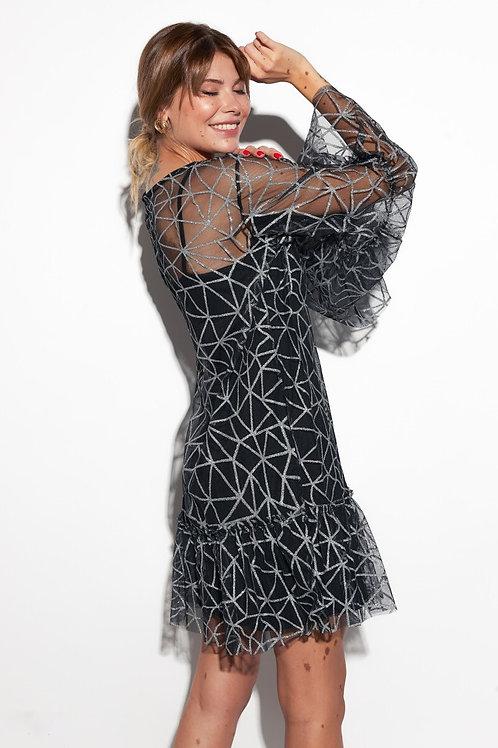 Романтичное платье-трапеция