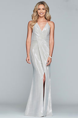 Роскошное платье на запáх