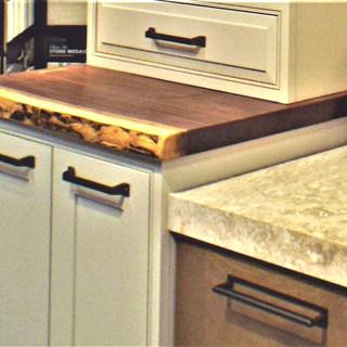 Walnut Accent Counter Top