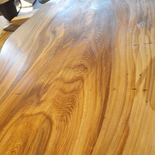 Elm Coffee Table Grain