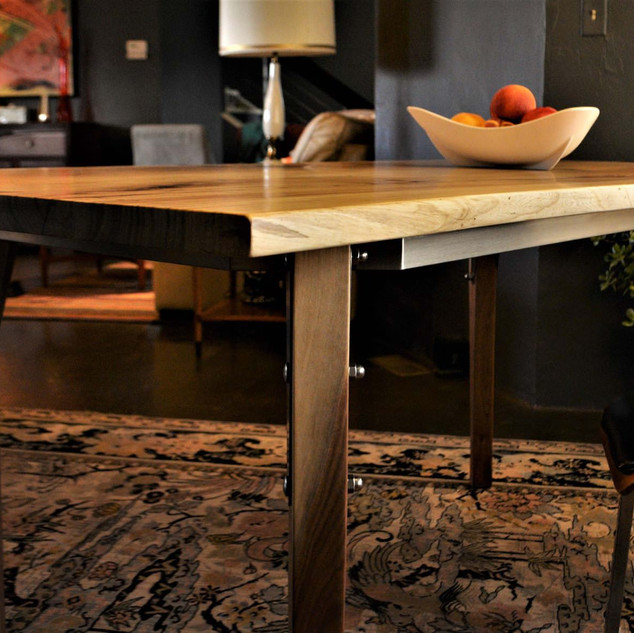 Elm & Walnut Table