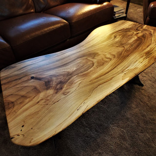 Beetle Kill Elm Coffee Table Top