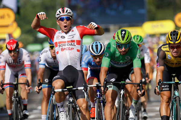 Caleb Ewan desempata entre os sprinters e soma segundo triunfo no Tour