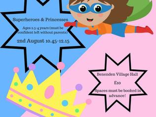 Preschool summer workshop ☀️👣