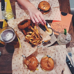 _bareburgercbus making the world a cheddar place one burger at a time #nationalburgerday 🍔