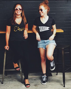 Last chance to save 25% on your order from _clotheohio using discount code_ TWOGIRLSONECBUS _They ha
