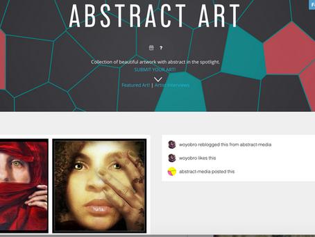 Abstract Art - Artist Interview- Master Psychic Rachel