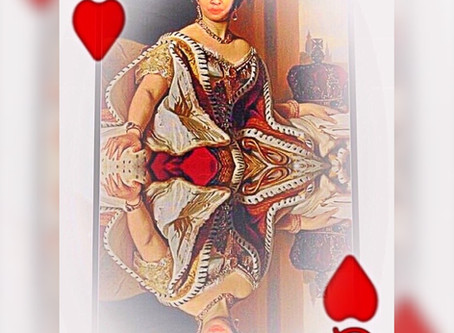 "My Latest Aura Picture ""Queen Of Hearts"""