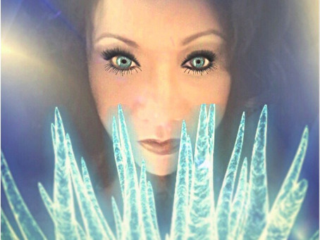 "My Latest Aura Pic Of A Client ""Ice Princess"""