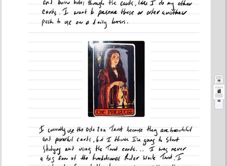 03-27-18 Psychic Diary