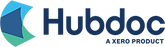 Hubdoc document management software logo.
