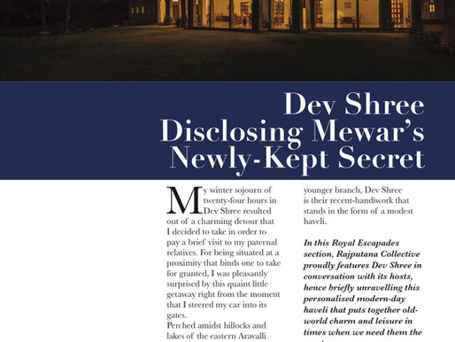 DEVSHREE: Disclosing Mewar's Newly-Kept Secret