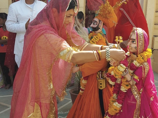 Celebrating GANGAUR in the Erstwhile Rajput Fiefdoms of MANDAWA and ROHET