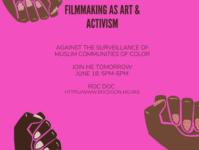 Filmmaking as Art & Activism