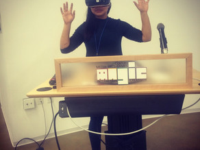Artist Talk at The Frameless Labs, Magic Spell Studios
