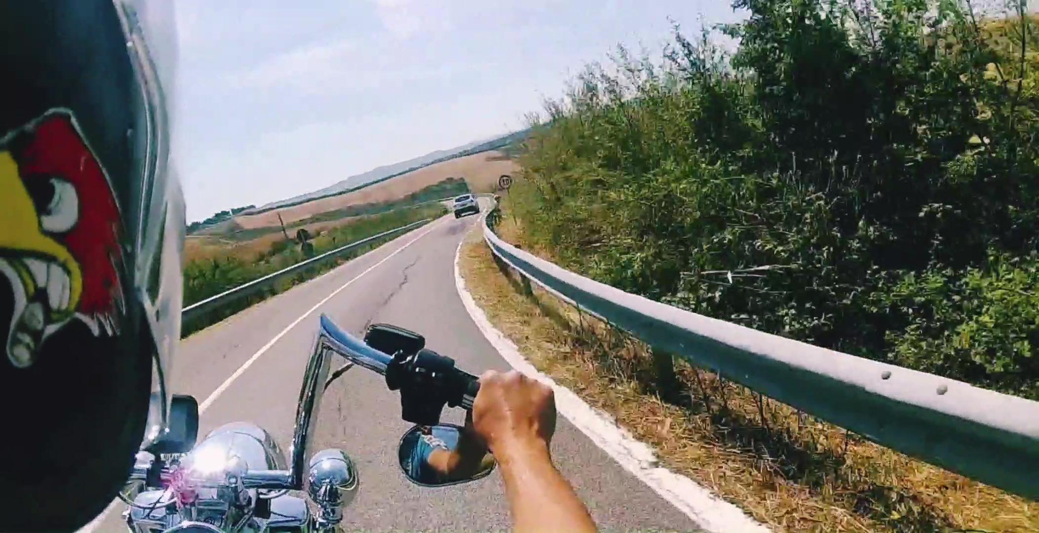 Abfahrt Montalcino