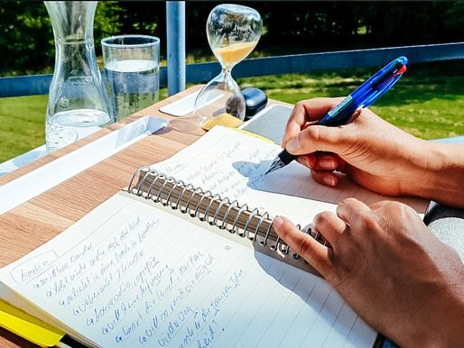 Schreibst du noch mit der Hand?