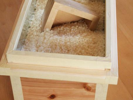 米びつとして使う場合の茶箱サイズは?
