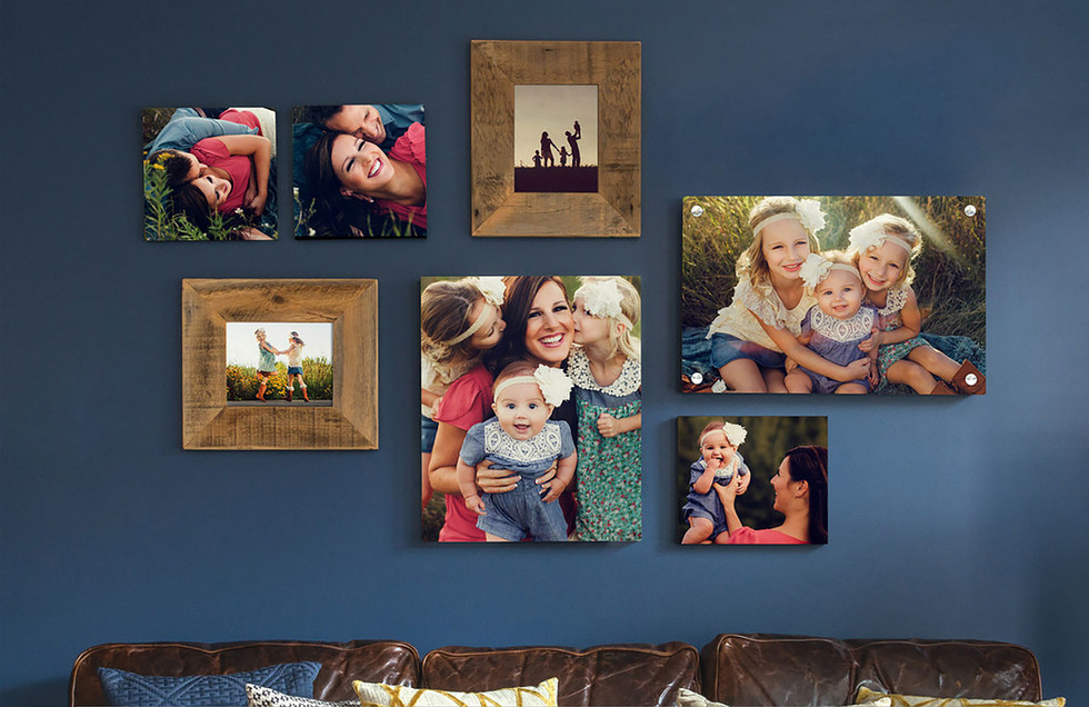7 Image Wall Display
