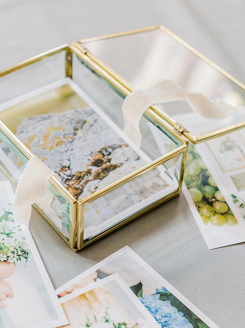 Heirloom Glass Box