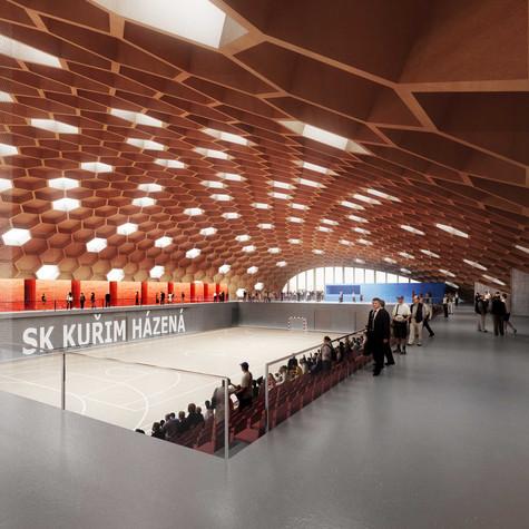 Městská sportovní hala v Kuřimi