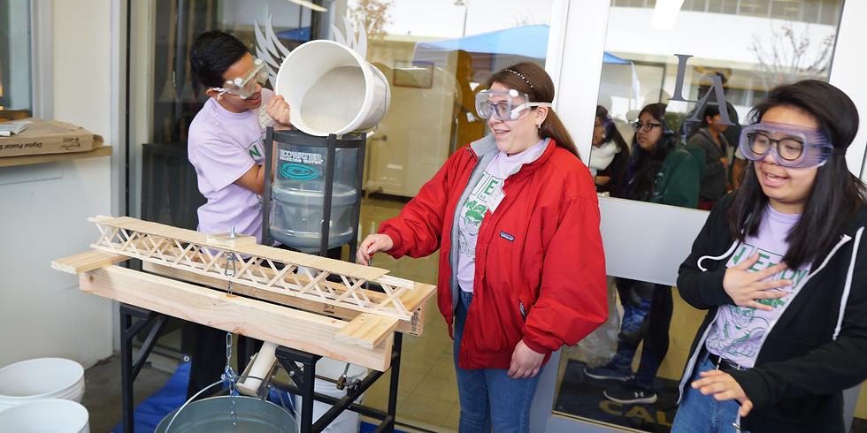 Volunteer for Popsicle Stick Bridge Competition 2019