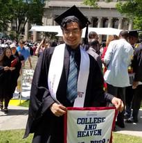 grad at his MIT graduation