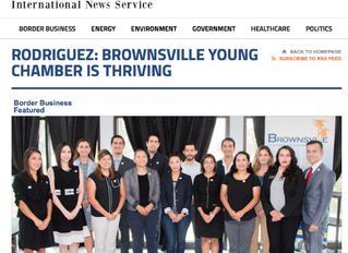 Shared Article: BROWNSVILLE YOUNG CHAMBER IS THRIVING