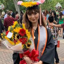 students at graduation from UTRGV