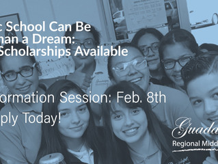 CATHOLIC SCHOOL CAN BE MORE THAN A DREAM: 35 FULL SCHOLARSHIPS AVAILABLE