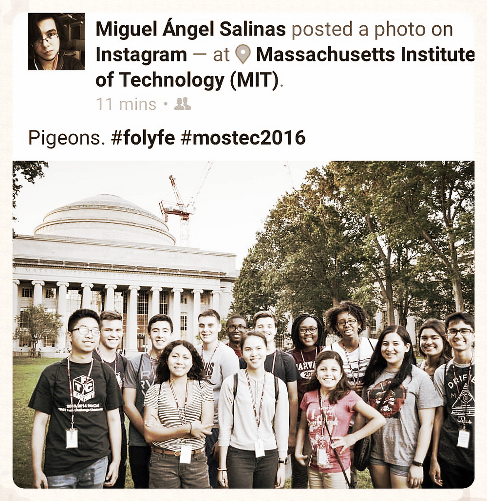 Miguel's student group