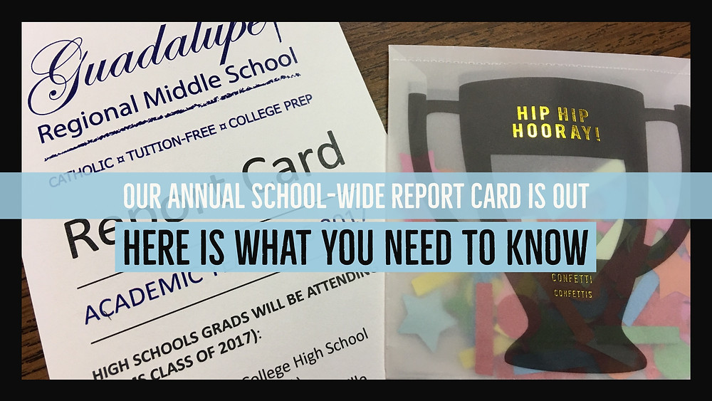 Our Annual School-Wide Report Card is Out: Here is What You Need To Know