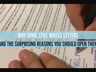 Why GRMS Still Writes Letters, and the 3 Surprising Reasons You Should Open Them