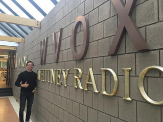 Grad Goes On-Air Discussing Challenges of College