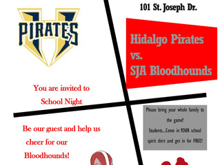 Who's got spirit? Join us this Friday at SJA to show your spirit!