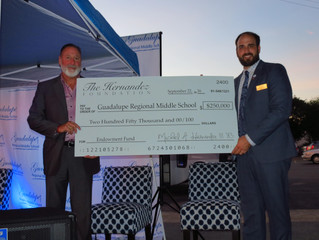News Release: GRMS Receives $250,000 gift from The Hernandez Foundation