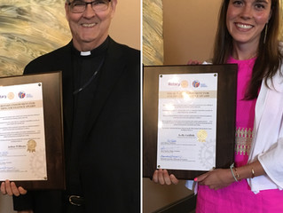 2 teachers receive Rotary Teaching Excellence awards