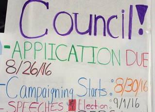 Student Council Election Info