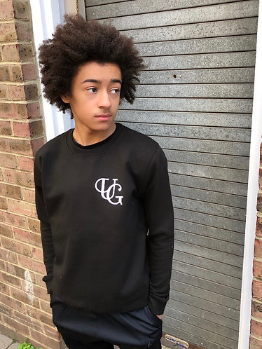 KIDZ Unique Greed Sweat - Black