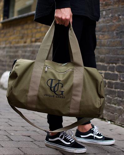 Unique Greed Barrel Bag / Karki Green