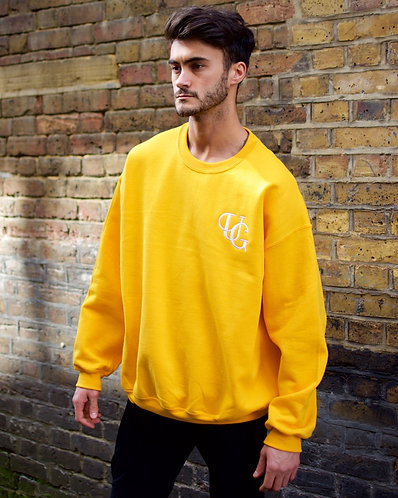 Unique Greed Sweat / Sunflower Yellow