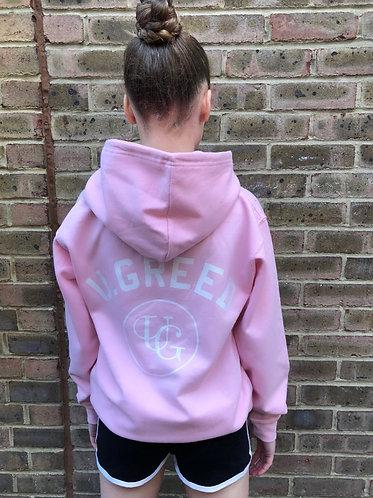 Kidz UG Hoodie - Candy Floss Pink