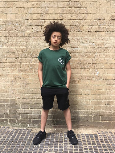 Unique Greed KIDZ T-Shirt - Military Green