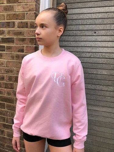 KIDZ Unique Greed Sweat - Baby Pink