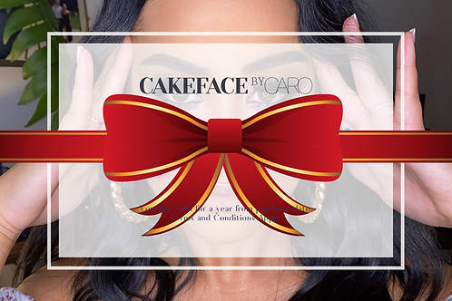 Cakeface by Caro - Gift Card