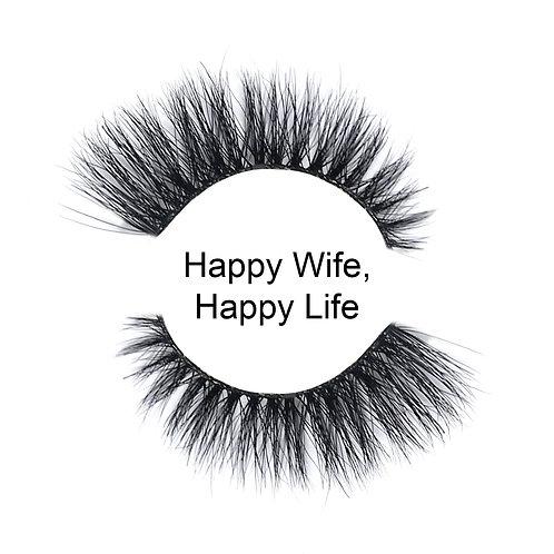 WORLDWIDELASHES - HAPPY WIFE HAPPY LIFE
