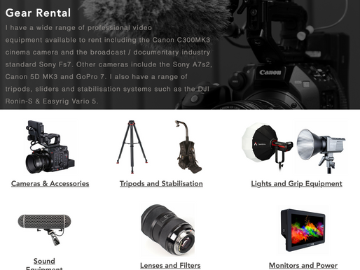 Rental Gear available now!
